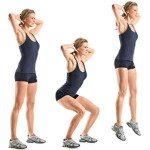 Jump Squats for Indoor Exercise