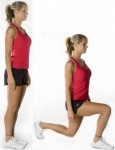Front lunges for Winter Exercise