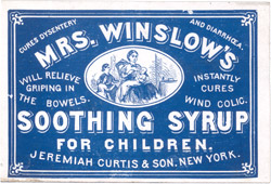 Southing Syrup for Medical Purpose